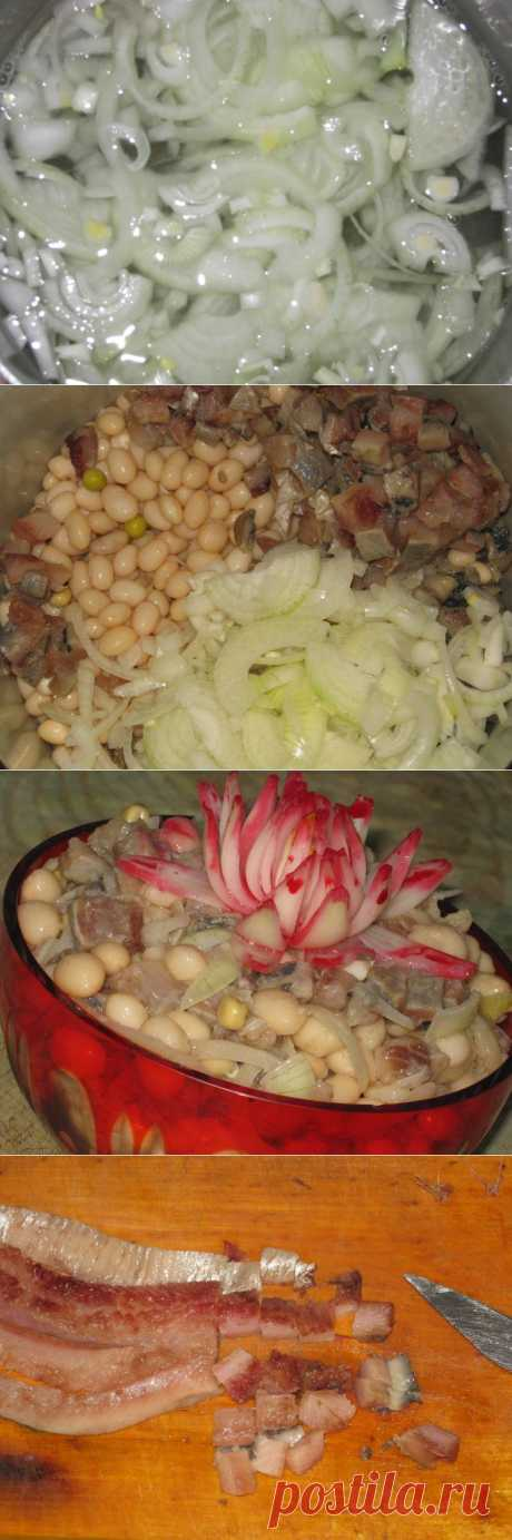 салат постный Удиви гостей рецепт с фото