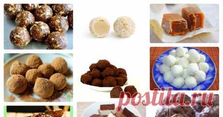 Рецепты конфет в домашних условиях Автор — vahnaaleksander