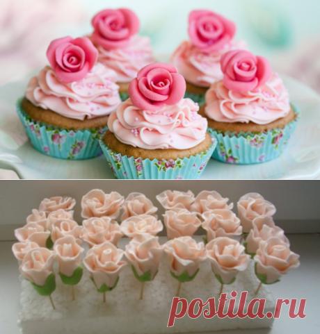Розы из крема, мастер класс по приготовлению в домашних условиях