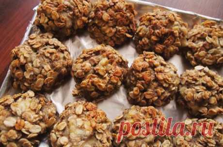 Легкое Овсяное печенье на кефире — просто находка для тех, кто на диете!