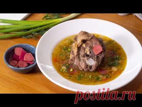 Похмельный суп на 1 января. Идеально после Нового года.