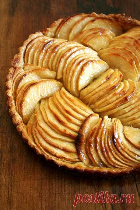 Французский яблочный тарт – добавим осени вкусного шарм