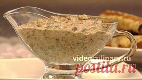Грибной соус к картофельным блюдам - Видеокулинария.рф - видео-рецепты Бабушки Эммы | Видеокулинария.рф - видео-рецепты Бабушки Эммы