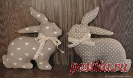 Кролики в скандинавском стиле