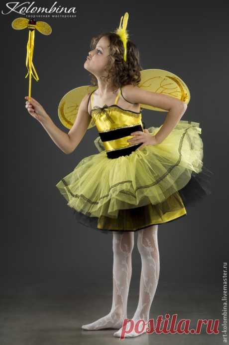 Купить Костюм Пчела - желтый, костюм пчелы, пчела, детский костюм пчёлка