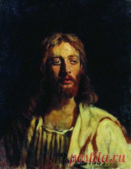 Христос. 1884. Илья Ефимович Репин