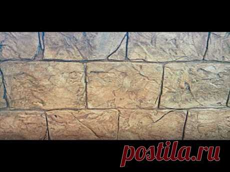 The Greek DECORATIVE stone from TILED glue