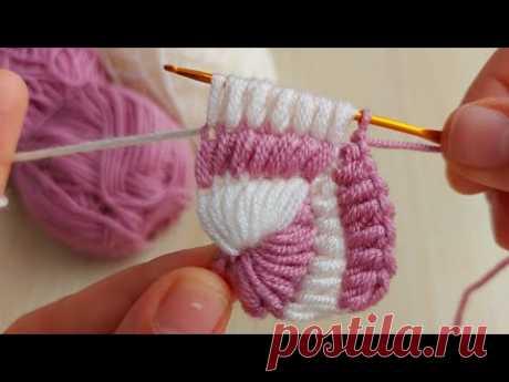 Super Easy Tunisian Knitting - Tunus işi örgü modeline bayılacaksınız