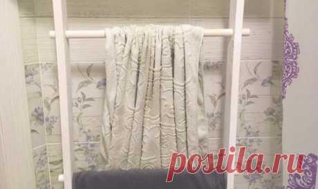 Своими руками полотенцесушитель в ванную. 1 простой вариант для экономных | flqu.ru - квартирный вопрос. Блог о дизайне, ремонте
