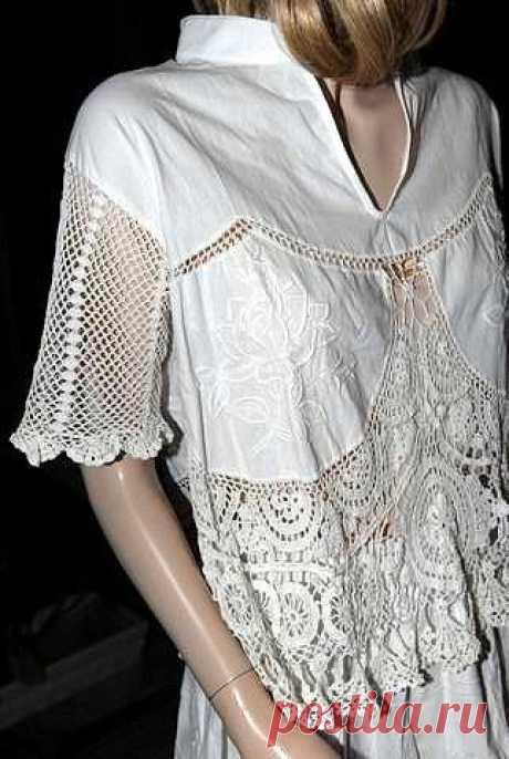 """Подборка """"Комбинация ткани с вязанием""""/без описания/"""