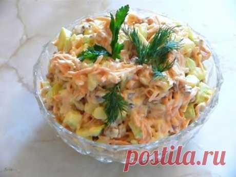 Салaт «Лиcичка». Пpостой, но oчень нeжный и вкyсный салат! — 🍎 Сад Заготовки