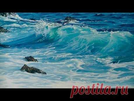 """Pintura al óleo: """"Marina""""."""