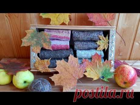 НАВЯЗАЛА за сентябрь 🧶🍁🍂 #вязание #рукоделие