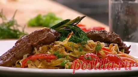 Жареная капуста - Рецепты жареной капусты - Как правильно готовить