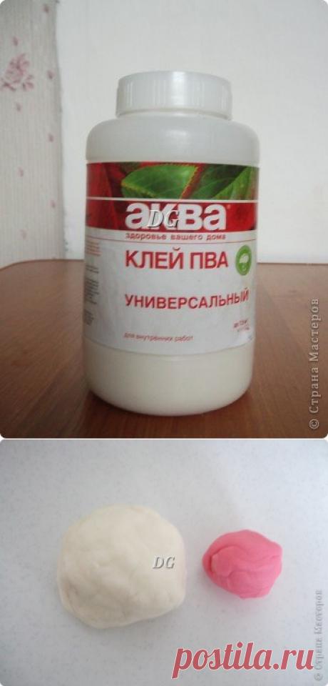 Делюсь своим рецептом холодного фарфора! | Страна Мастеров