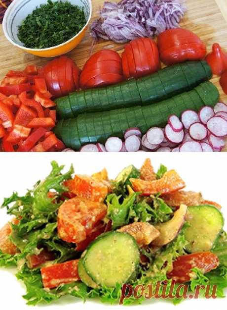 Salads without mayonnaise on a holiday table: original recipes | New Domestic tyranny