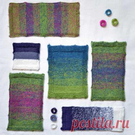 tru-knitting: Работа с цветом: деграде, меланж