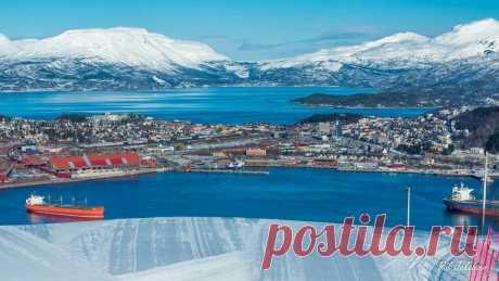 Нарвик - суровый норвежский город   ПИЛИГРИМ   Яндекс Дзен