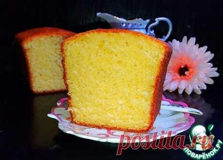 """Творожный кекс """"Идеальный"""" почти по ГОСТу - кулинарный рецепт"""