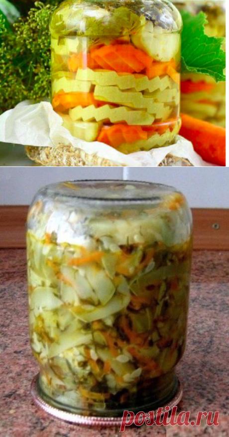 10 рецептов из кабачков на зиму