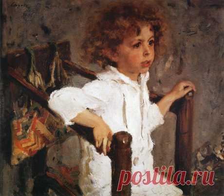Мика Морозов. 1901  /  Валентин Александрович Серов (1865-1911). Часть 2 : vakin