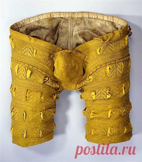 Вязаные штанишки из коллекции 1555-56 года. Дрезденские вязаные штанишки. 16 век а такая классная техника исполнения.