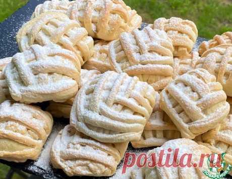 Печенье с яблочно-ореховой начинкой – кулинарный рецепт