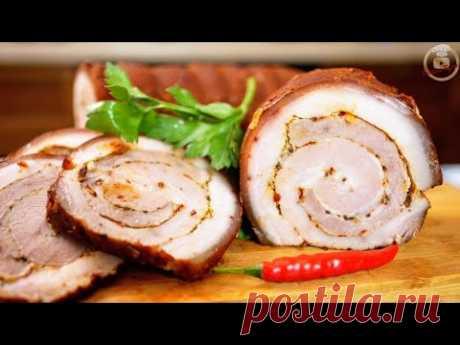 Цыганский Мясной рулет. Рецепт просят все. Новогоднее блюдо, цыганка готовит.