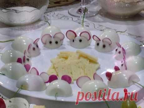 Как красиво подать яйца