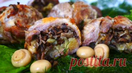 Фаршированное мясо… в кружке: так на праздник вы еще не готовили
