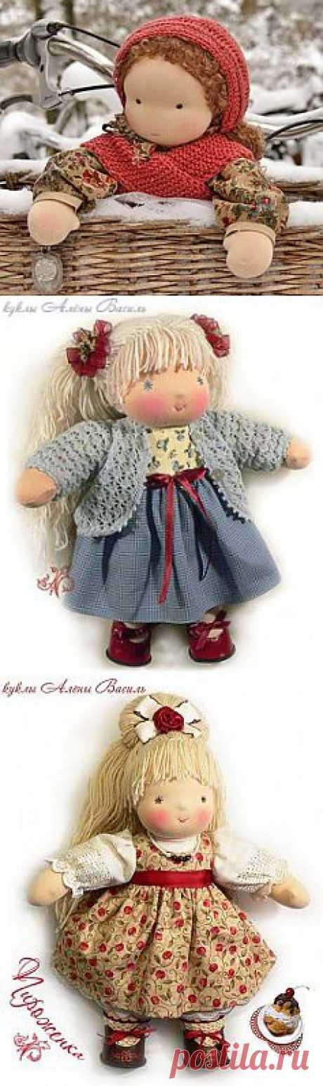 Вальдорфская кукла (Многое о ней, в т.ч. неготорые подробности изготовления) /ШКОЛА ИГРУШКИ