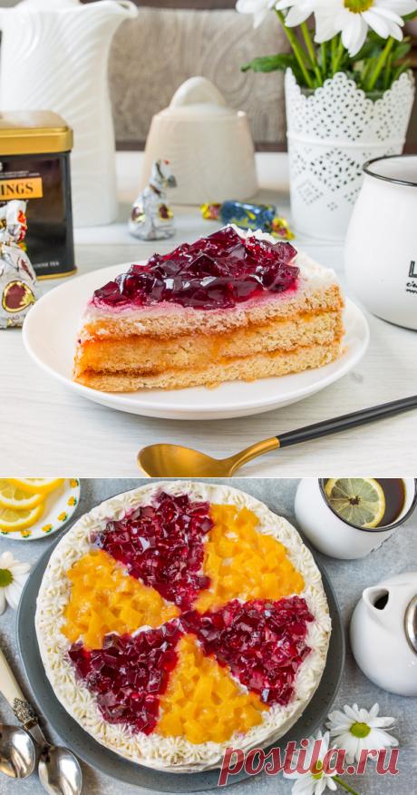 "Рецепт торта ""Позитив"" на Вкусном Блоге"