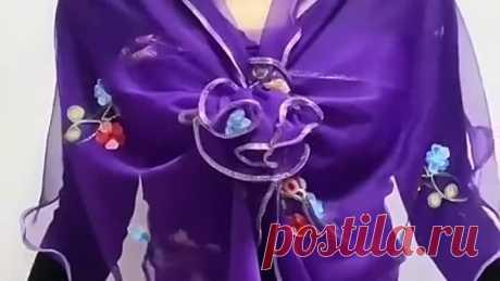 Красивые и оригинальные идеи с шарфом