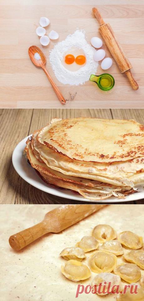 Рецепты самого вкусного теста  ➡️Читайте, кликнув на фото