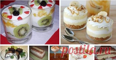Коллекция вкуснейших десертов Читать далее...