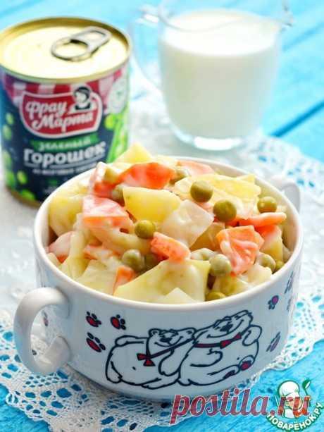 """Овощи """"Как в детском саду"""" – кулинарный рецепт"""