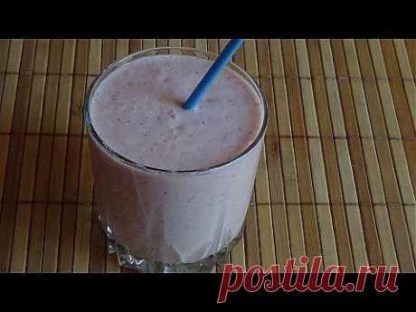 Домашний йогурт питьевой. - YouTube