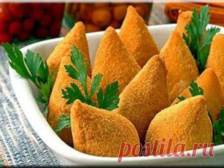 Пирожки кошинья (Coxinha) — это популярное бразильское блюдо — Вкусные рецепты