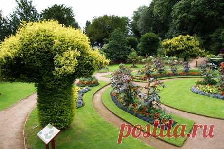 Сад замка Вентворс