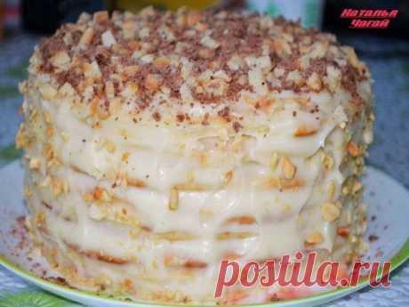 Как приготовить творожный торт на сковородке - рецепт, ингридиенты и фотографии