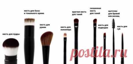 Единственные кисти, которые нужны для домашнего макияжа - советы визажистов  ~ SLOVESA - журнал о развитии