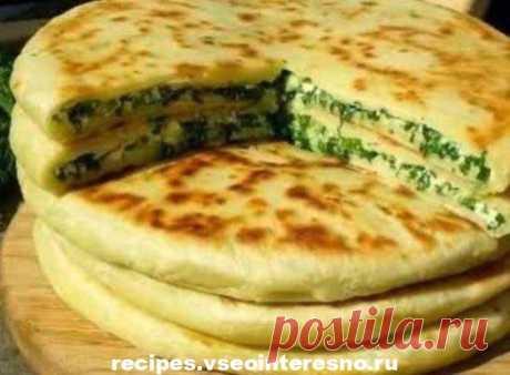 Khachapuri with cheese