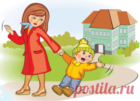 По дороге в детский сад: 13 речевых игр с ребенком — Полезные советы