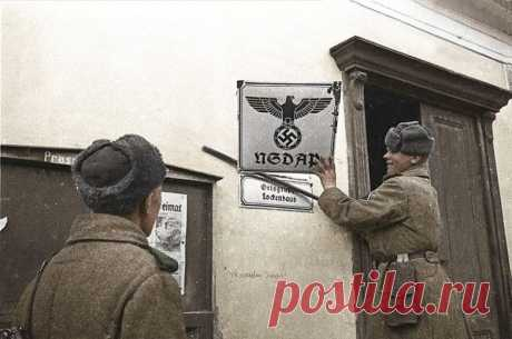 Цветные фотографии Великой Отечественной войны1.