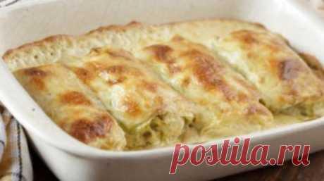 Голубцы с картошкой и грибным соусом | Кулинарушка - Вкусные Рецепты