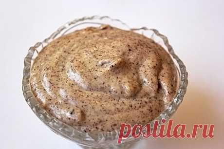 Майонез ореховый Ингредиенты:Орехи грецкие — 1 ст.Масло подсолнечное рафинированное — 100 млСоль — 1 гПерец чёрный молотый — 0.5 гСахар — 1 гГорчица — 1 ч. л.Сок лимонный — 1 ст. л.Вода — 5 ст. л.  Приготовление: Орехи смолоть или измельчить блендером. Добавить соль, перец, сахар и горчицу. Добавить 1-2 столовых ложки воды. Хорошо растереть. Небольшими […] Читай дальше на сайте. Жми подробнее ➡