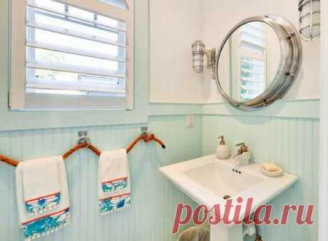 Неожиданные идеи для ванной и санузла / Ванная комната, туалет и зеркала / ВТОРАЯ УЛИЦА