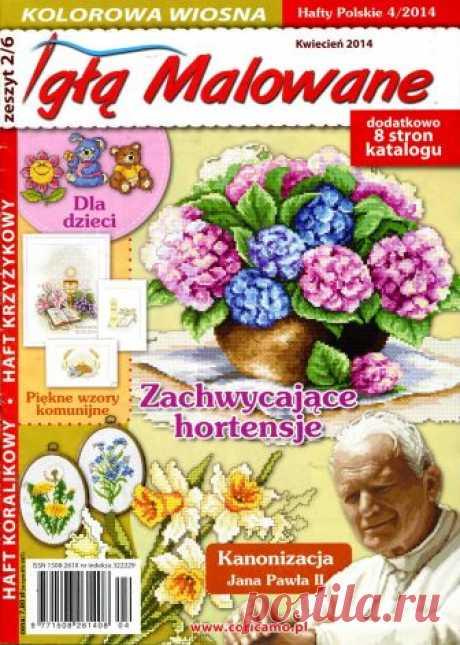 Hafty Polskie - польское рукоделие - запись пользователя verav (Вера) в сообществе Вышивка в категории Вышивка крестом Журналы по вышивке, но там есть ещё много интересных идей