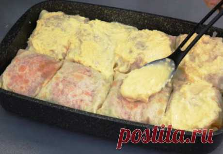 Заворачиваем минтай в лаваш и ставим в духовку - Steak Lovers - медиаплатформа МирТесен Минтай принято жарить на сковороде, но приготовленная таким образом рыба получается совершенно обычной, да и запах надолго остается в кухне. Лучше будет сделать гораздо более вкусный рецепт: завернем минтай в лаваш, добавим помидоров и соуса, а затем поставим в духовку. Нам понадобится примерно
