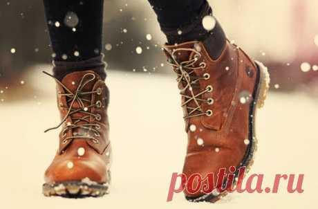 Как быстро высушить промокшую обувь — Всегда в форме!
